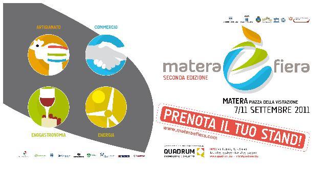 Locandina Matera è Fiera 2011