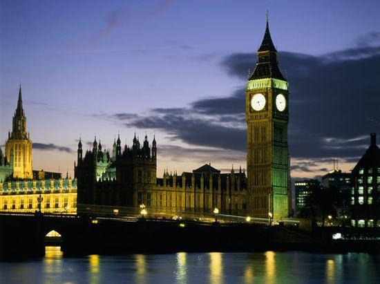 Londra di sera