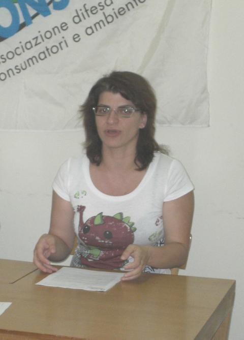 Marina Festa - Segretaria Provinciale Adiconsum Matera