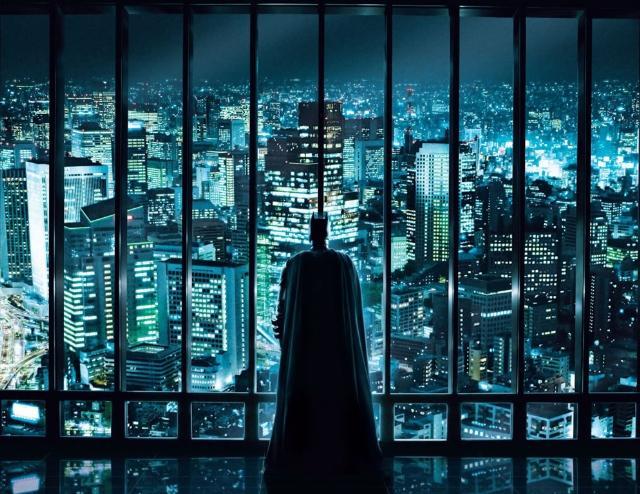 Matera come Gotham City