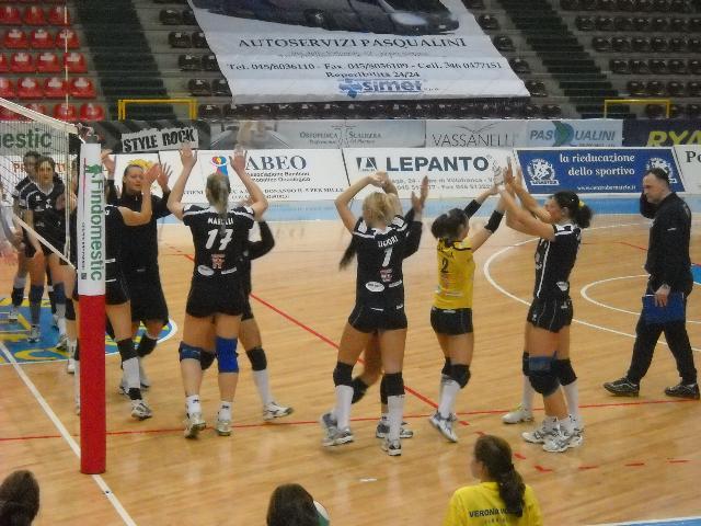 Matera vs Verona, pallavolo femminile, 5 febbraio 2011 - foto di Giovanni Pellegrino