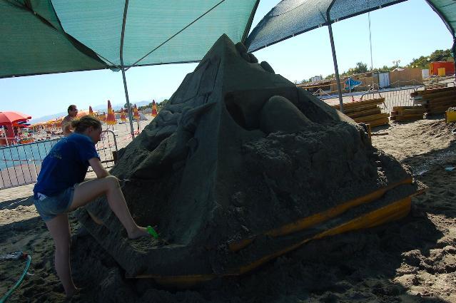 Meraviglie di Sabbia 2011 - La Migrazione (Mercedes David)