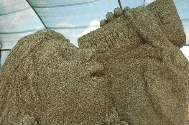 Meraviglie di Sabbia 2011 - opera di Ciappini