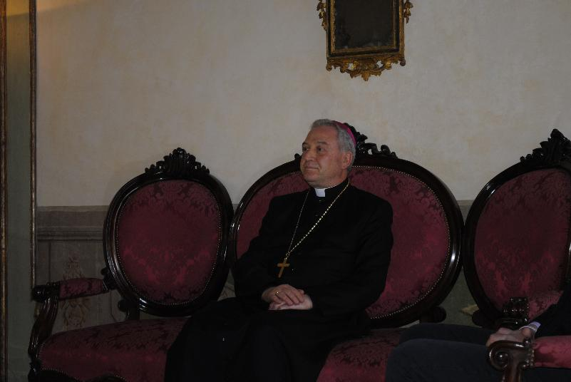 Mons. Salvatore Ligorio (foto SassiLand)
