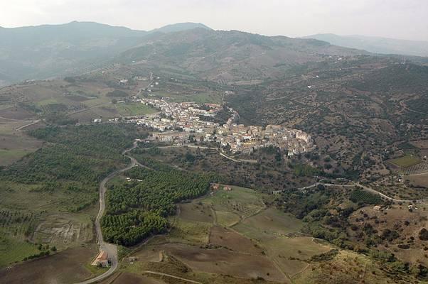 Nova Siri - foto aerea del paese - novasiri.it