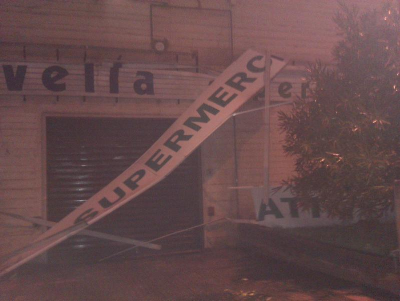 Nubifragio a Matera - 01 marzo 2011