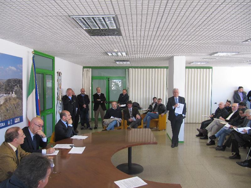 Piano Casa, incontro al comune di Matera - 26 marzo 2011
