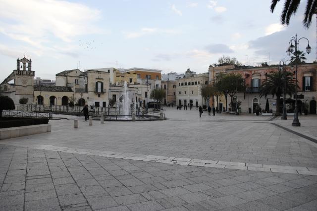 Piazza Vittorio Veneto - Matera