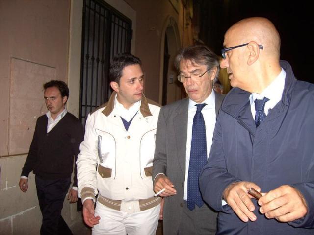 Pizzolla, Moratti, Adduce