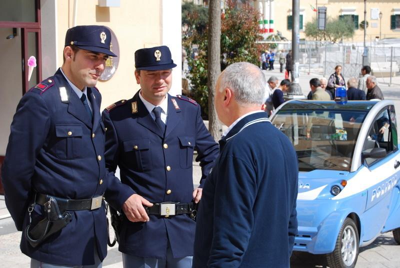 Poliziotti di quartiere a Matera