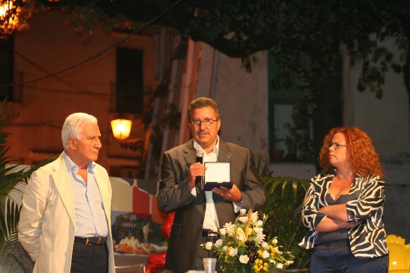 Premio Dieta mediterranea a CCIAA Matera - 2011