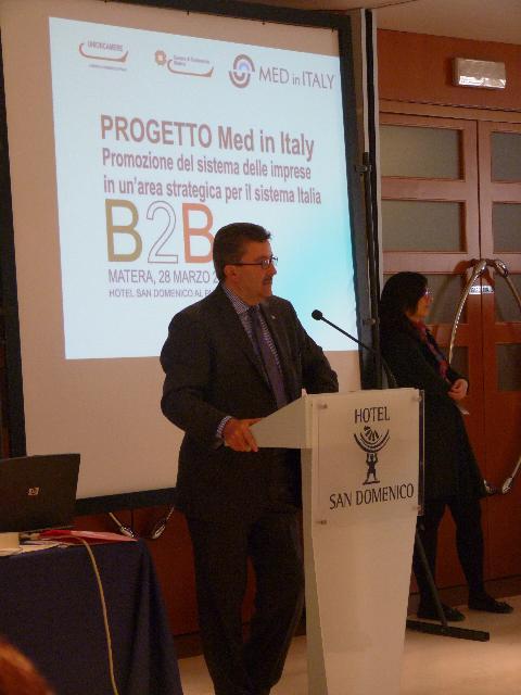 Presidente della Camera di Commercio, Angelo Tortorelli