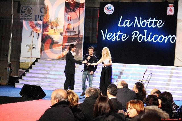 Rosa Cellammare a La Notte Veste Policoro 2011