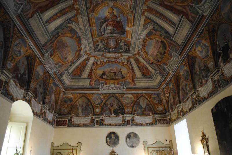 sala del Palazzo Arcivescovile di Matera