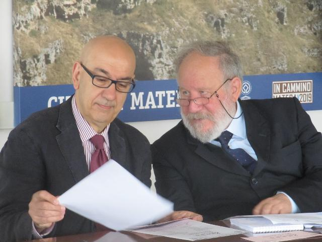 Salvatore Adduce e Elio Bergantino