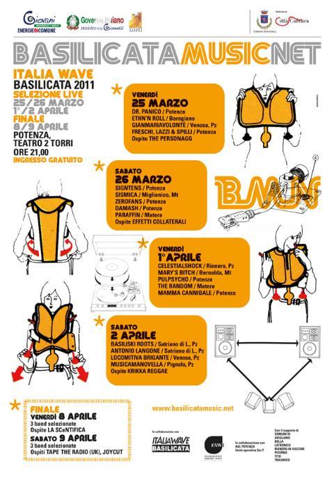 selezioni regionali Italia Wave Band 2011