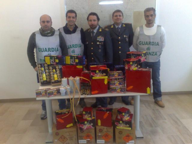 Sequestro botti illegali da parte della Guardia di Finanza di Matera