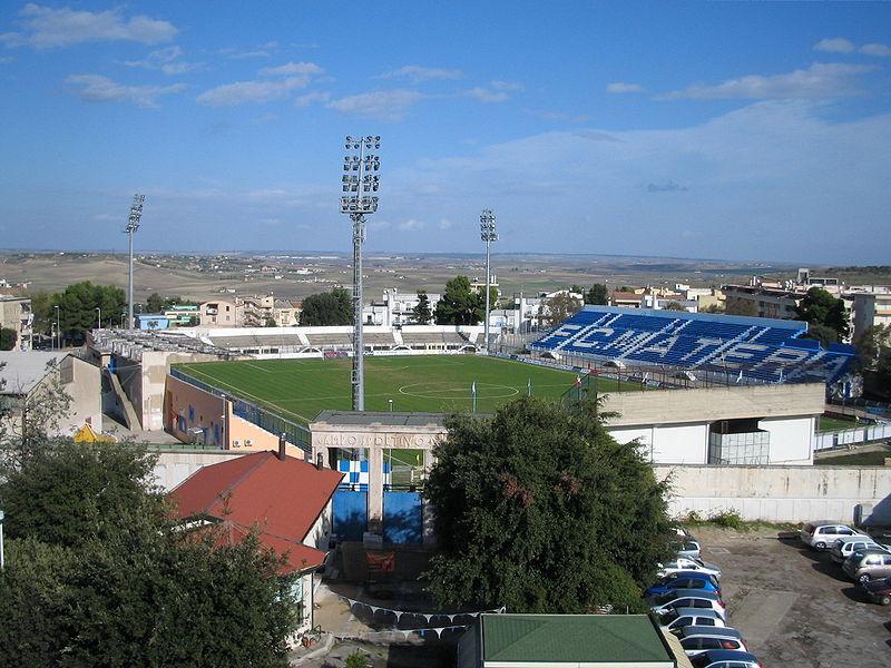 Stadio XXI Settembre - Franco Salerno a Matera . (fonte wikipedia)