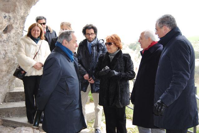 Sua Altezza Reale Wijdan al-Hashemi di Giordania in visita a Matera