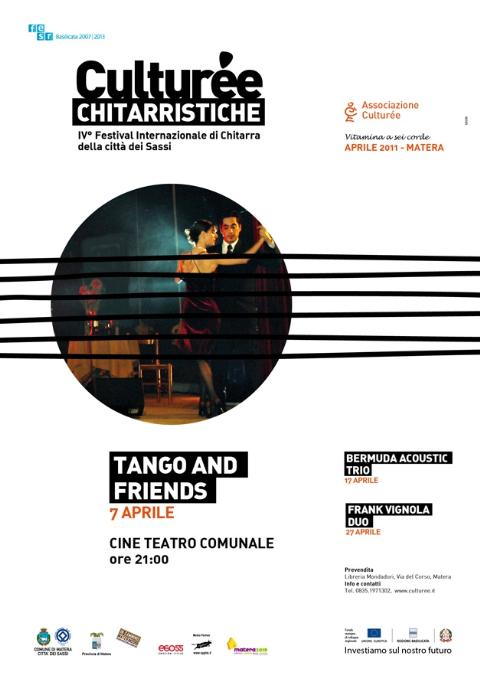 Tango and Friends - Culturèe Chitarristiche - 7 aprile 2011