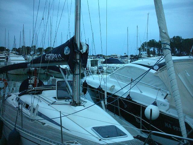 Una delle barche partecipanti (foto Martemix)