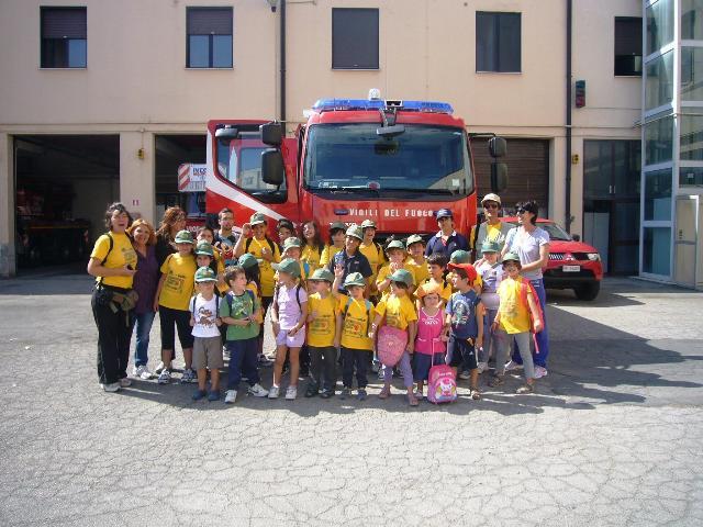Vigili del fuoco per un giorno 2011 - UISP
