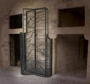 Cancello - Opera di Pasquale Santoro al MUSMA