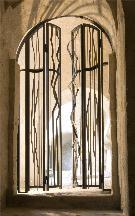 Cancello dedicato a Antonello da Messina