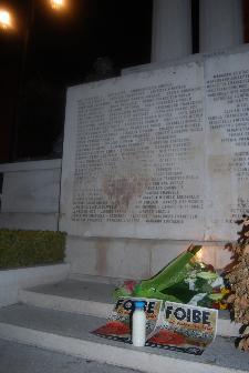 Casapound Matera ricorda le vittime delle foibe