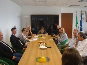 Delegazione finlandese al Comune di Matera
