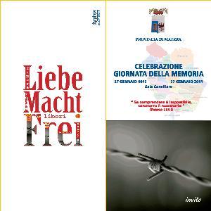 Giornata della Memoria organizzata dalla Provincia di Matera - Matera
