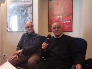 I maestri Vittorio Manno e Angelo Rizzelli del circolo la scaletta - Matera