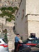 il luogo della tragedia (foto Martemix) - Matera