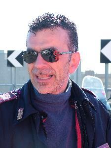 il poliziotto Michele Casamassima (foto Martemix)