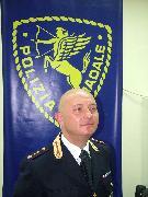 il Vice Questore Aggiunto della Polizia Stradale, Antonio Fatiguso (foto Martemix)