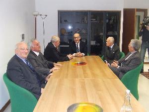 Incontro con ex sindaci di Matera - 30 gennaio 2011
