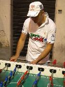 Ivan Di Stasi, campione italiano di calciobalilla