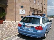 La sede della stradale di Matera (foto Martemix)