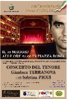 Locandina Gianluca Terranova a Montescaglioso - 10 maggio 2011 - Matera