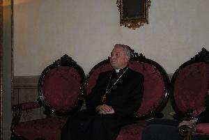 Mons. Salvatore Ligorio (foto SassiLand) - Matera