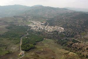 Nova Siri - foto aerea del paese - novasiri.it - Matera