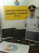PC Videopoker sequestrati dalla Guardia di finanza - Matera