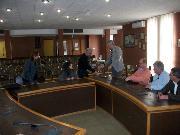 Sala giunta del comune di Policoro