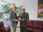 Salvatore Adduce e il generale Domenico Scaglione