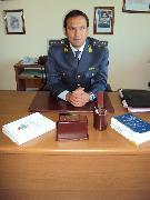 Tenente Francesco Milano della Guardia di Finanza