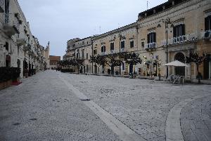 Via Ridola e piazzetta Pascoli - Matera (foto Gianni Cellura) - Matera