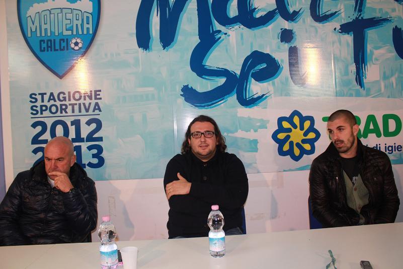 Al centro Saverio Columella (foto Cosimo Martemucci)