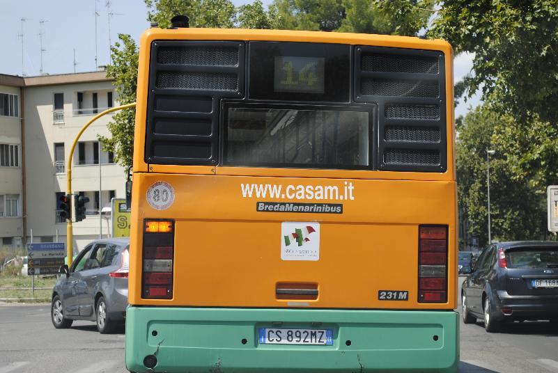 Autobus della CASAM (foto SassiLand)