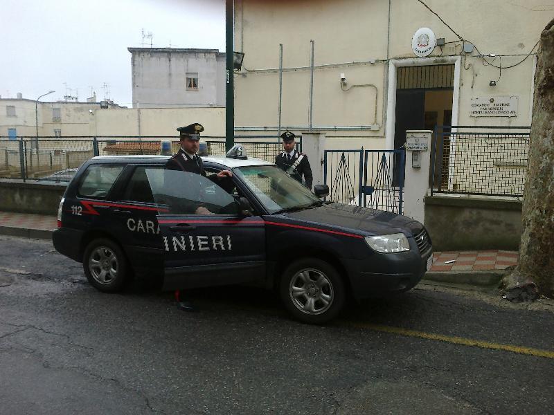 Carabinieri a Montalbano Jonico