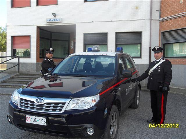 Carabinieri a Nova Siri